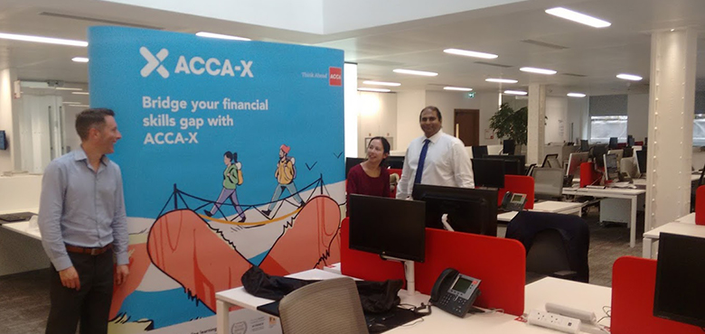 group ACCA-X stand